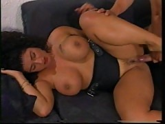 Chubby busty brunette Tiziana Redford anal,fisting, vintage