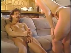 Mustache man makes love to a slut with his big cock
