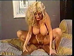 Vintage sex with a busty blonde