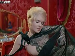 Mesmerizing Retro Star Joey Heatherton Shows Her Boobs In Bluebeard