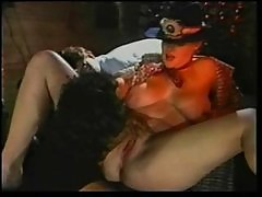 (no sound) Busty cowgirl redhead Lisa DeLeeuw and Ron J