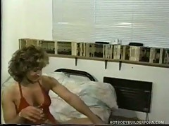 Hot body builder milf fucked by horny dude