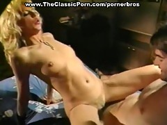 Vintage hardcore action with a blonde