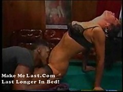 Jackylyn-a classic black fuck amateur babe on pool table