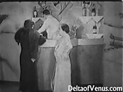 Authentic Vintage Porn 1930s - FFM Threesome