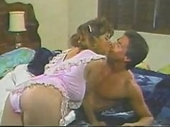 Christy Canyon & Peter North In Classic Fuck Scene