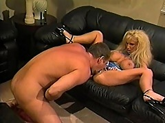Megaboobed mature woman rage with pleasure