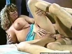 Slut with huge boobs nailed hard