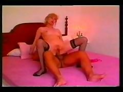 Mature Blonde Gets A Big Cock Stuffed In Her Ass Then She Licks It Clean