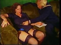 Milf Manages To Mate With A Young Hottie Stud In The Living Room