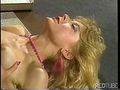 Classic Porn Babe Nina Hartley Gives Her Boss A Reason To Keep Her