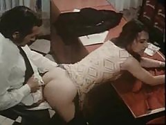 Classic porn group sex in the office