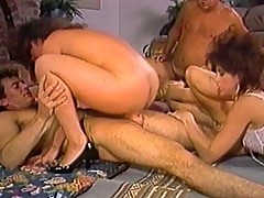 Assembly of porn idols in hot orgy