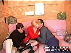 French mature blonde sex group and anal