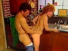 Sexy redhead chick gets nasty with Latin dude