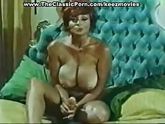 Vintage Porn Scenes With A Busty Redhead From The Candy Store