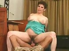 Classic Mature Auntie Gets Drilled In Her Very Hairy Bush