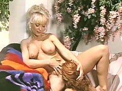 Lesbian vintage porn movie with two hot milfs