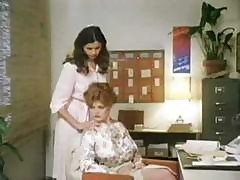 Vintage Office Lesbo Fucking