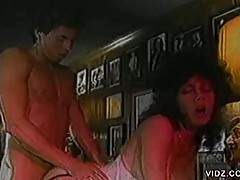 Vintage fuck blowjob for this sweet brunette babe