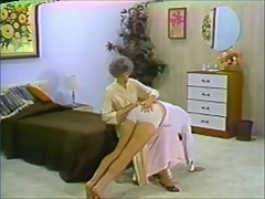 Man spanked in panties by sensual woman