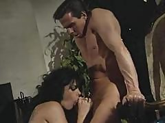 Classic Action With Stud Peter North And Sexy Brunette Ariana