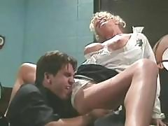 Unsightly Burger With A Flourishing Dugout, Tiffany Million, Gets Cudgeled By T.t. Boy