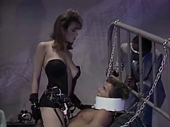 CHRISTY CANYON AS MISTRESS, PETER NORTH IS THE SLAVE