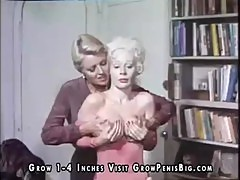 Classic porn scene with four horny folks