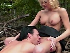 Sizzling blond babe Sunset Thomas gets balled by Zack Thomas
