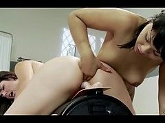 Girls Obliterated by Sybian Multiple Orgasms